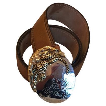 Roberto Cavalli Leather Leather Belt Measured 80