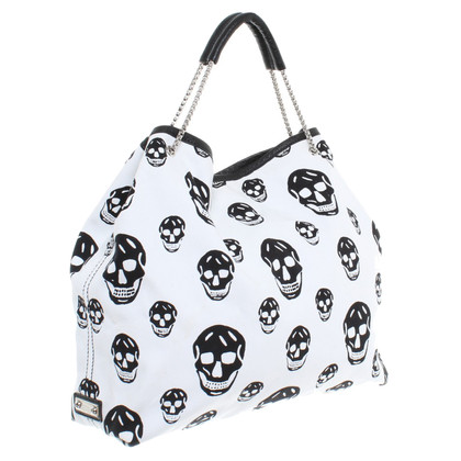 Alexander McQueen Handbag with skull pattern