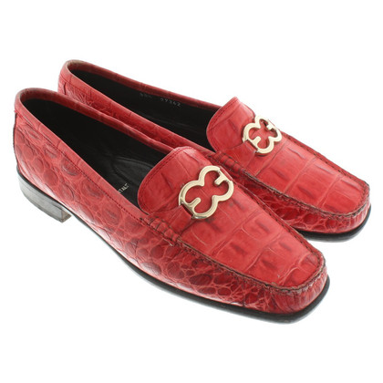 Escada Slipper in Red