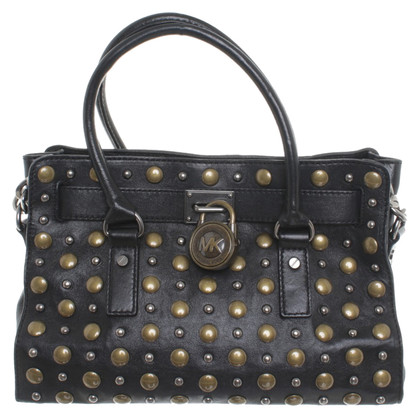 Michael Kors Bag in pelle con rivetti