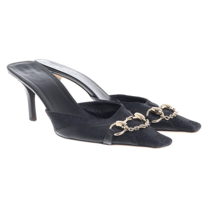 Gucci Mules met Guccissima patroon