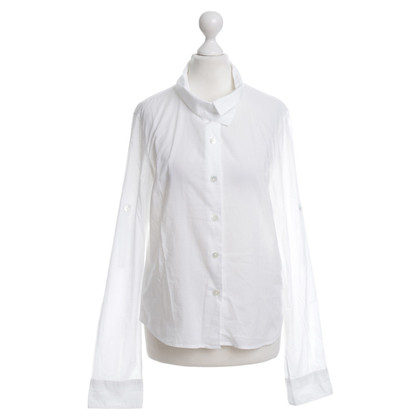 Ann Demeulemeester Blusa in bianco