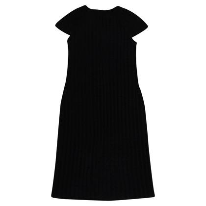 Chanel Zwarte jurk met knoppen