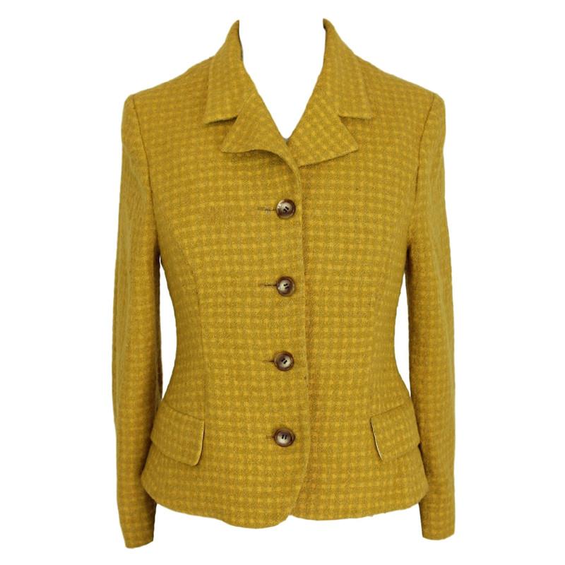 Gianni Versace Jeans Couture Acheter jaune en Veste Versace laine HHrwCqP