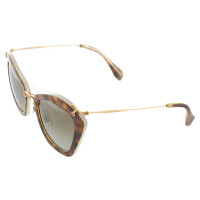 Miu Miu Sunglasses with tortoiseshell pattern