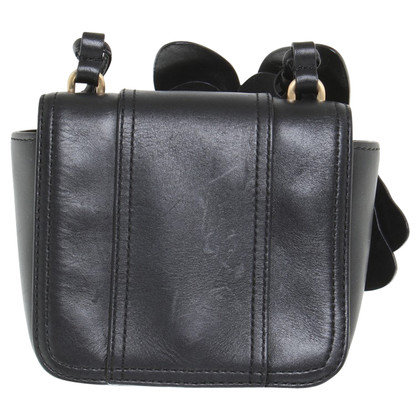 Reiss Shoulder bag in black