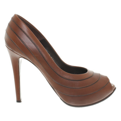 Walter Steiger Peeptoes in Brown