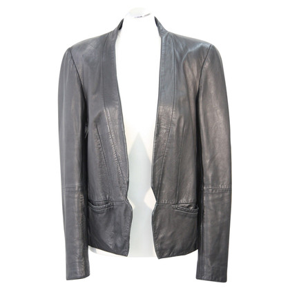 French Connection Leather jacket in black