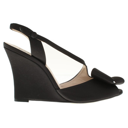 L.K. Bennett Wedges in zwart