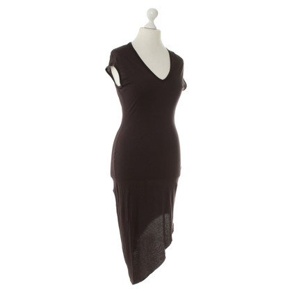 Helmut Lang Jersey dress in Brown