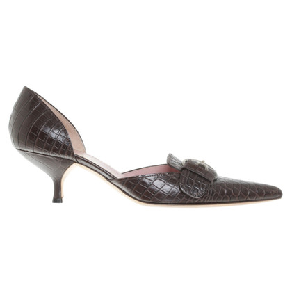 Prada Leather pumps in brown