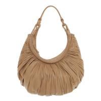 Loewe Leather handbag with pleats