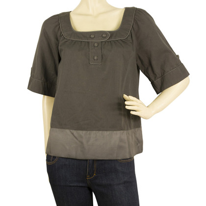 Thomas Burberry Blusen-Shirt in Grau