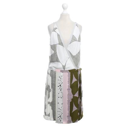 Diane von Furstenberg Jenna stampa - modello abito
