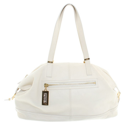 Fendi Leather handbag in cream