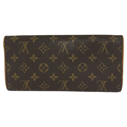 "Louis Vuitton ""Pochette Twin Monogram Canvas"""