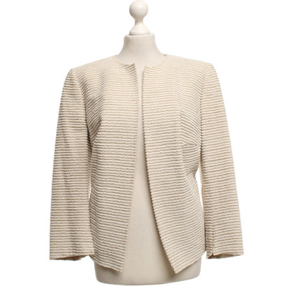 Akris Striped blazer in beige