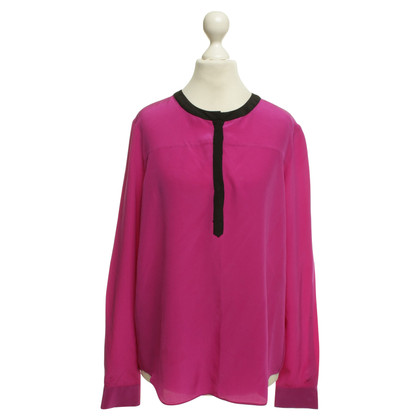 Diane von Furstenberg Silk blouse in purple
