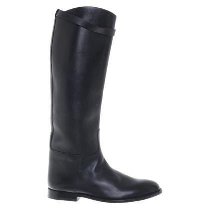 Hermès Stiefel in Schwarz