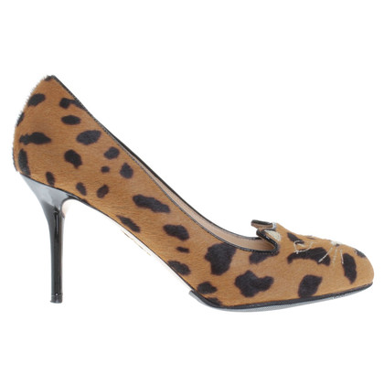 Charlotte Olympia pumps made of leather