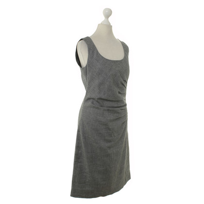 René Lezard Structured dress in grey