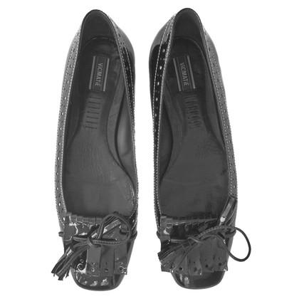 Andere merken Vic Matie - Lederen ballerina flats