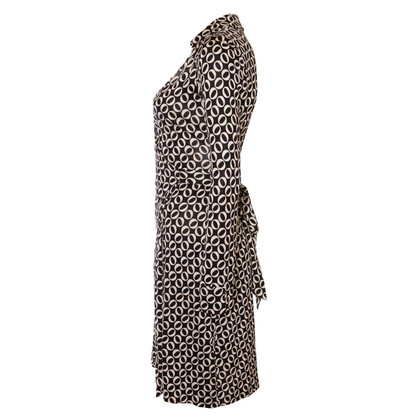 Diane von Furstenberg Wickelkleid mit Print