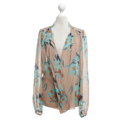 By Malene Birger Blouse met bloemenprint