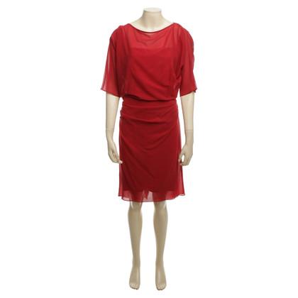 Talbot Runhof Kleid in Rot