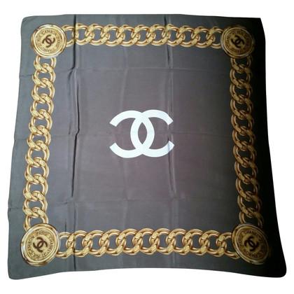 Chanel Sciarpa di seta Rue Cambon Paris