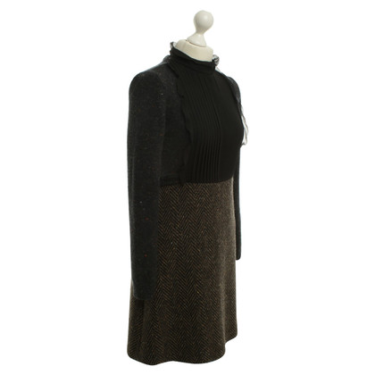 Valentino Woolen dress in the material mix