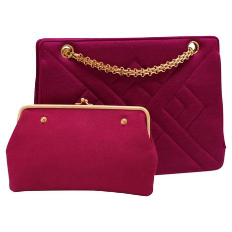 Verkauf Countdown-Paket Chanel Umhängetasche Fuchsia Extrem Günstig Online Kauf Verkauf Online Sat 1iAN9a