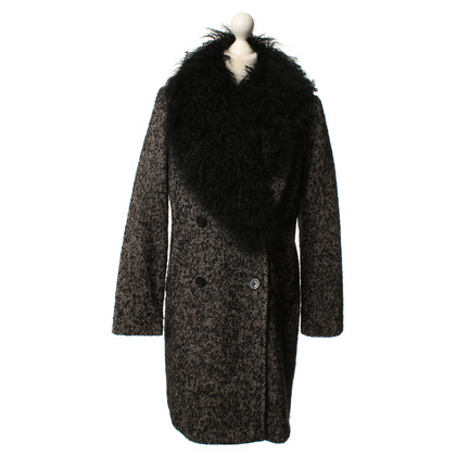 Michael Kors Coat with herringbone