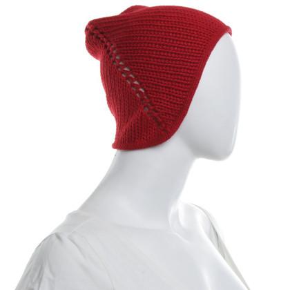 Borsalino Cap in Red