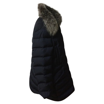 Moncler Down jacket with fur collar