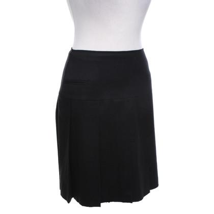 Strenesse Aangerimpelde rok in zwart