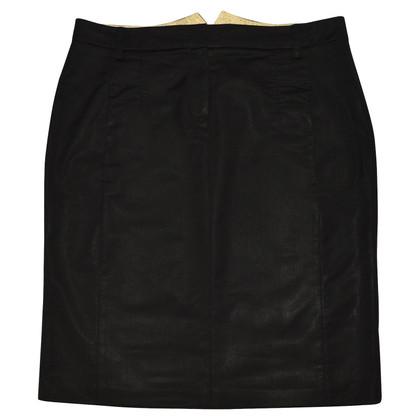 Schumacher Black woolen skirt