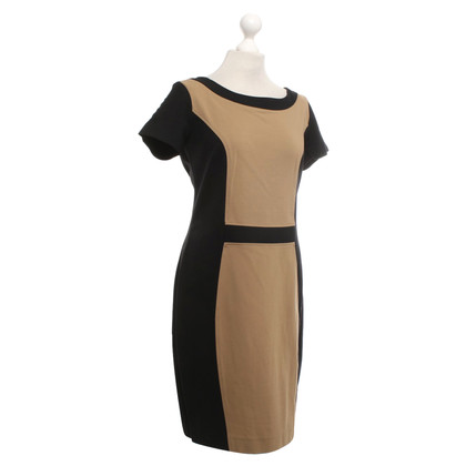Piu & Piu Dress in black / light brown