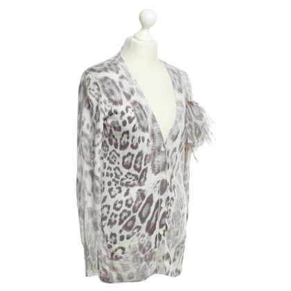 Marc Cain Cardigan with animal print
