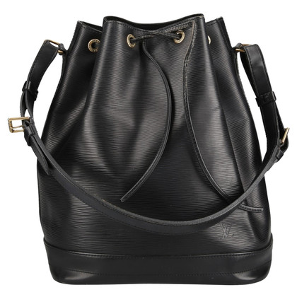 Louis Vuitton Grand Noé Epi Leather Black