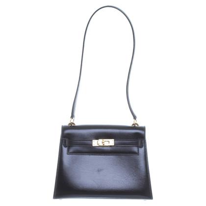 """Hermès """"Kelly Bag 20' in nero"""