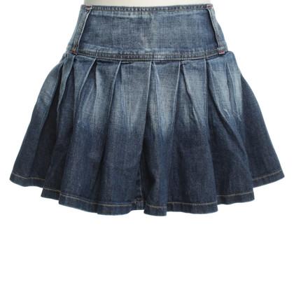 D&G Gonna jeans di lavaggio