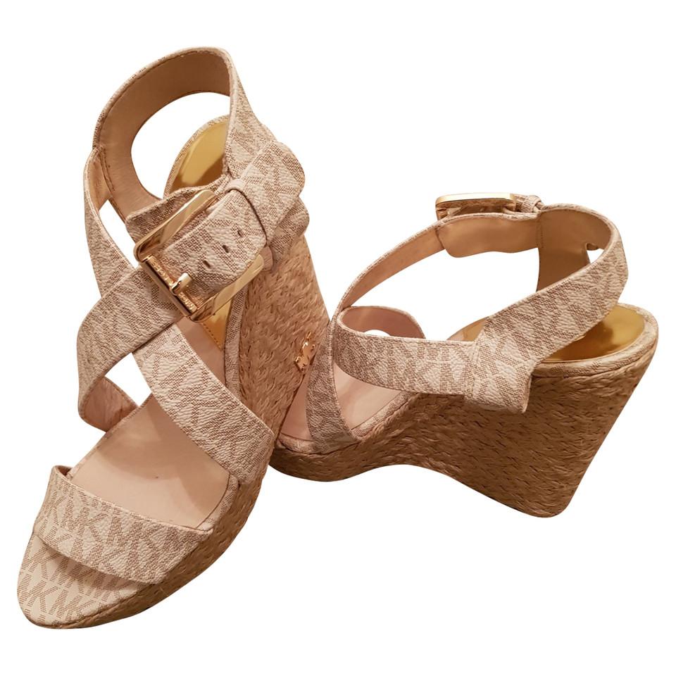 michael kors sandalen koop tweedehands michael kors. Black Bedroom Furniture Sets. Home Design Ideas