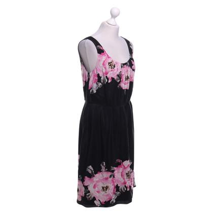 L.K. Bennett Silk dress with floral pattern