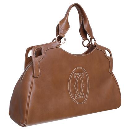 "Cartier ""Marcello"" in bruine handtas"