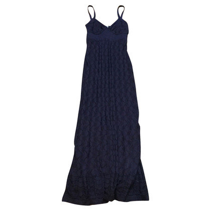 Missoni Long dress blue TG 42 en