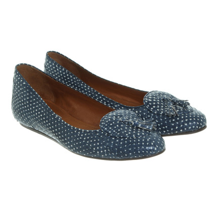 Lanvin Ballerinas in blue