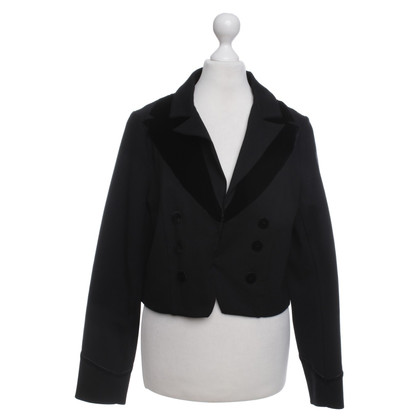 Marc by Marc Jacobs Korte blazer in zwart