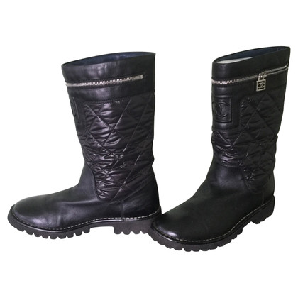 Chanel Boots in zwart