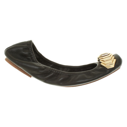 Rachel Zoe Ballerinas in black